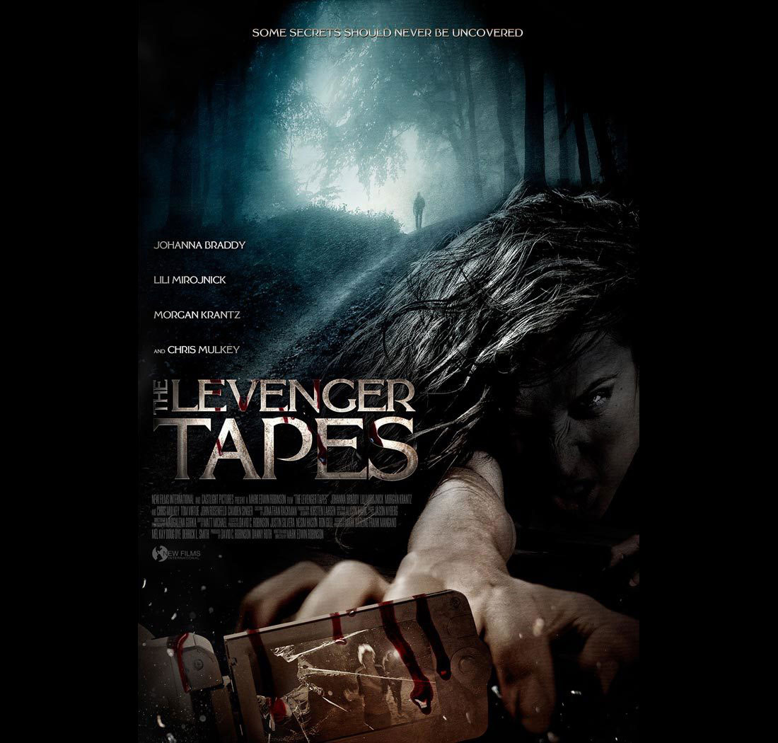 Dreamogram Iconisus – Key Art – Movie Poster – The Levenger Tapes – 1