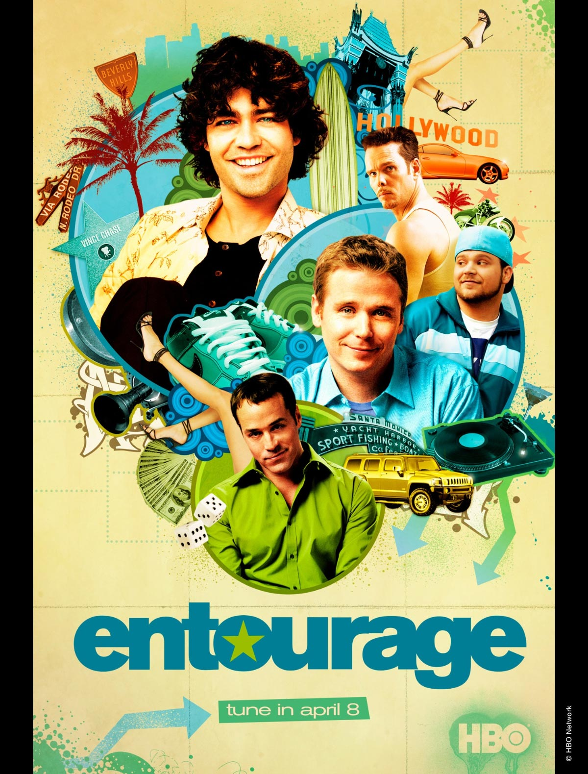 Dreamogram Iconisus – Key Art – Movie Poster – Entourage