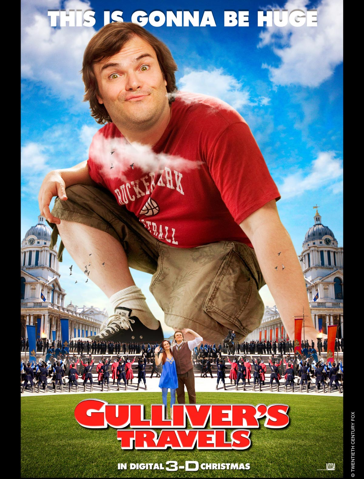Dreamogram Iconisus – Key Art – Movie Poster – Gulliver's Travels