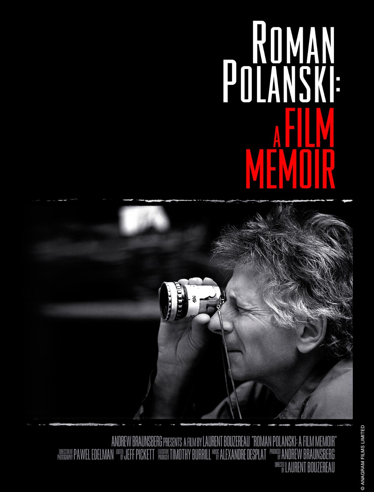 Dreamogram Iconisus – Key Art – Movie Poster – Roman Polanski: A Film Memoir