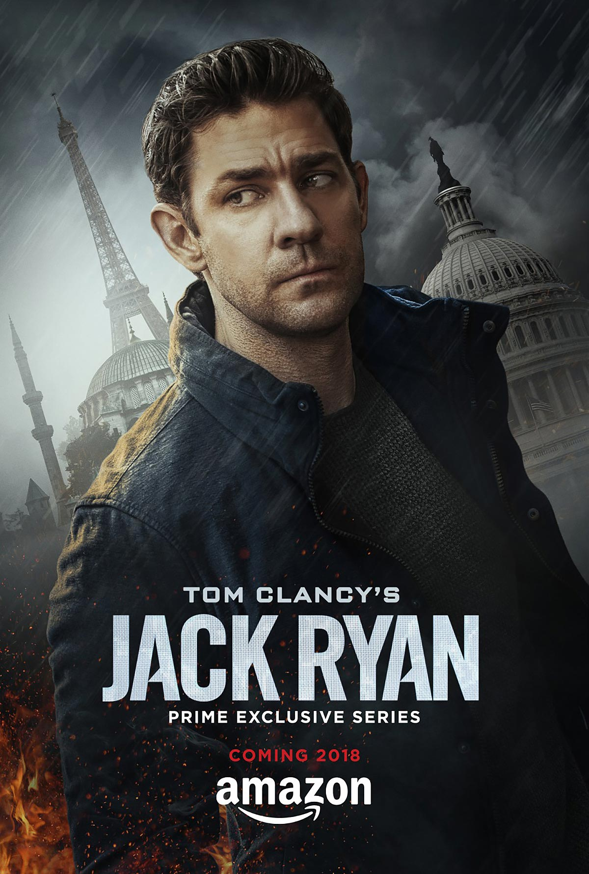 Dreamogram Iconisus – Key Art – Movie Poster – Tom Clancy's Jack Ryan
