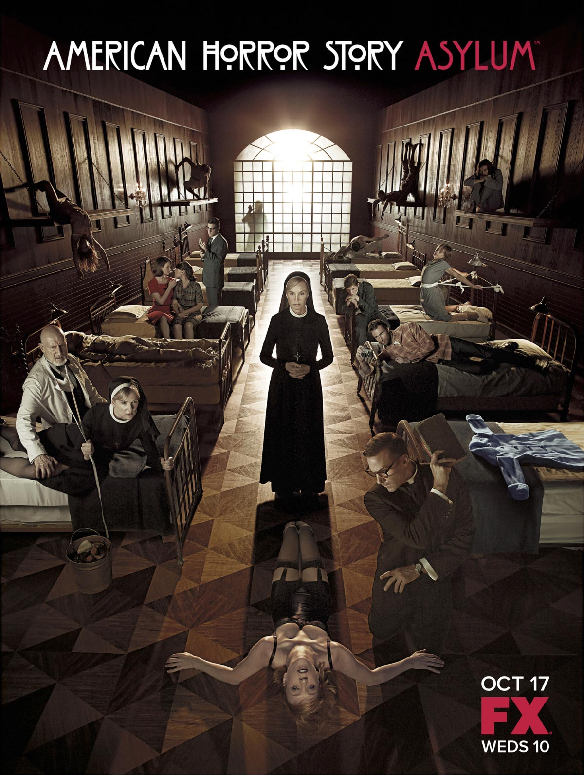 Dreamogram Iconisus – Key Art – Movie Poster – American Horror Story: Asylum – 1