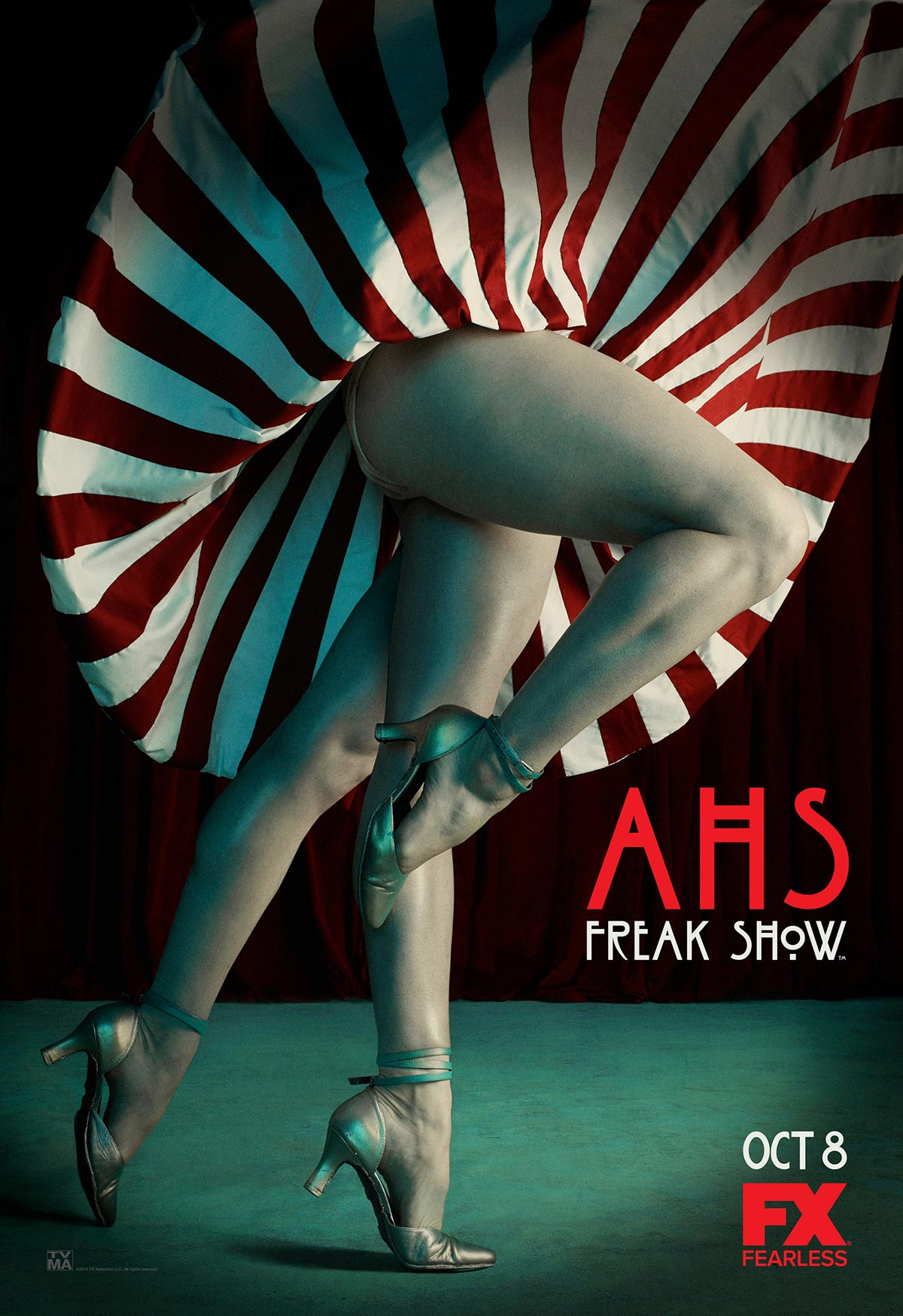 Dreamogram Iconisus – Key Art – Movie Poster – American Horror Story: Freak Show – 1