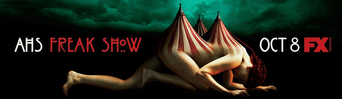 Dreamogram Iconisus – Key Art – Movie Poster – American Horror Story: Freak Show – 10