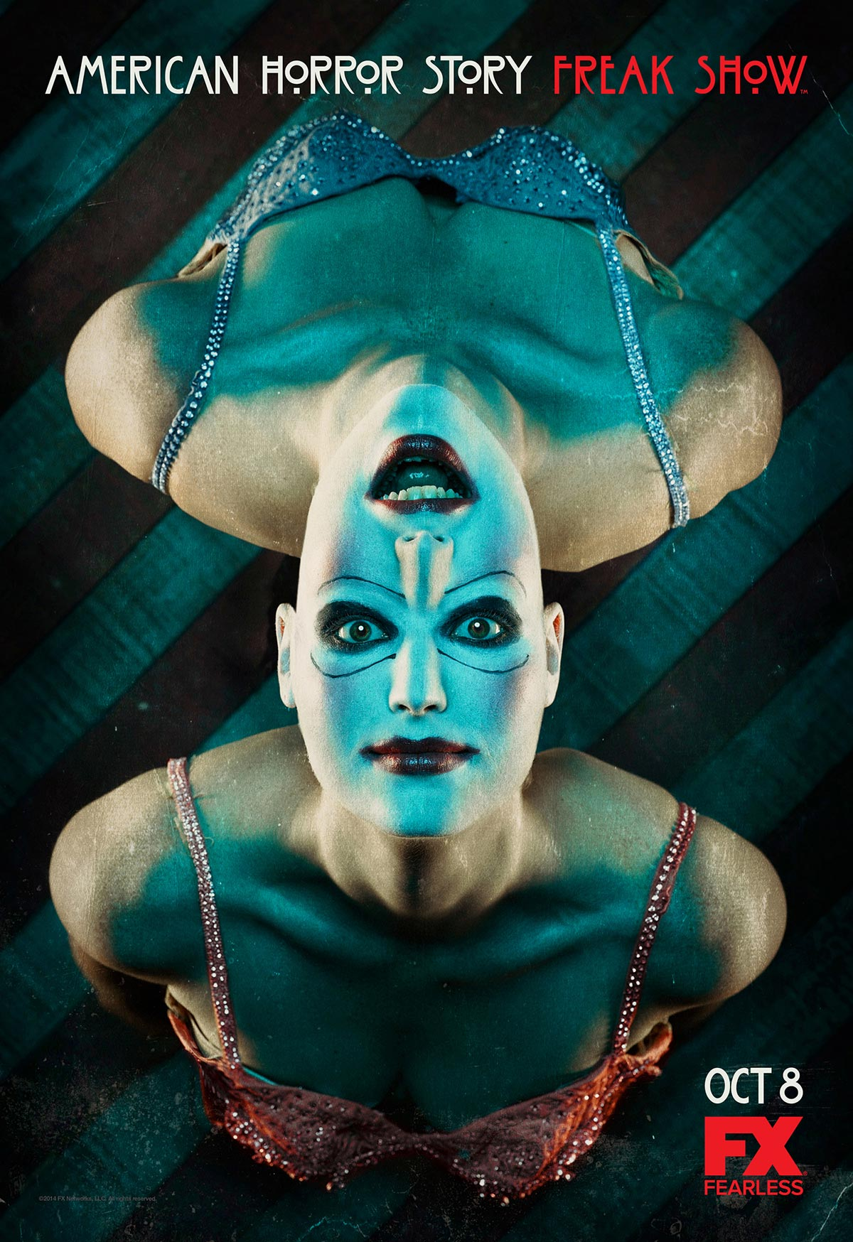 Dreamogram Iconisus – Key Art – Movie Poster – American Horror Story: Freak Show – 2