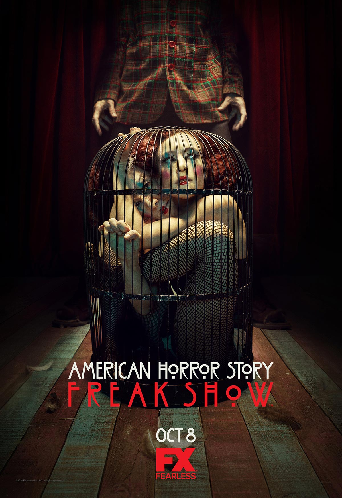 Dreamogram Iconisus – Key Art – Movie Poster – American Horror Story: Freak Show – 4
