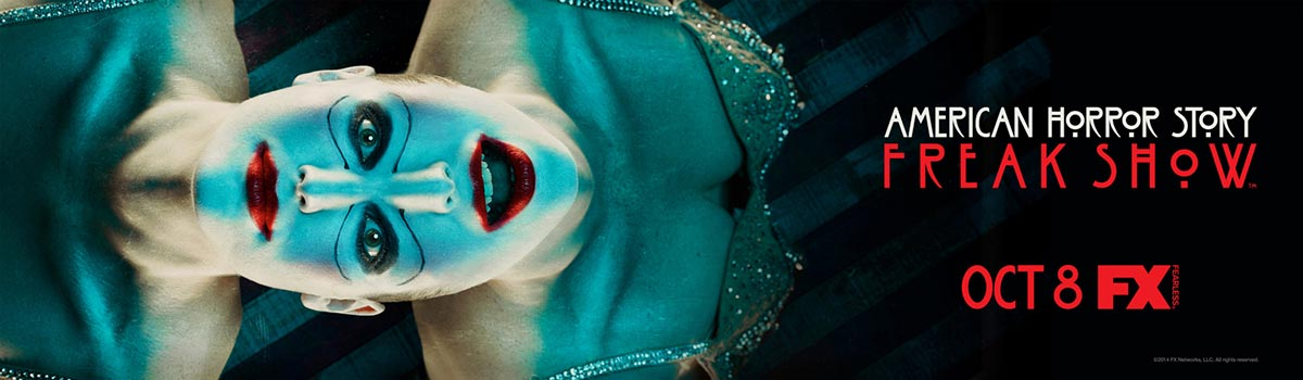 Dreamogram Iconisus – Key Art – Movie Poster – American Horror Story: Freak Show – 7