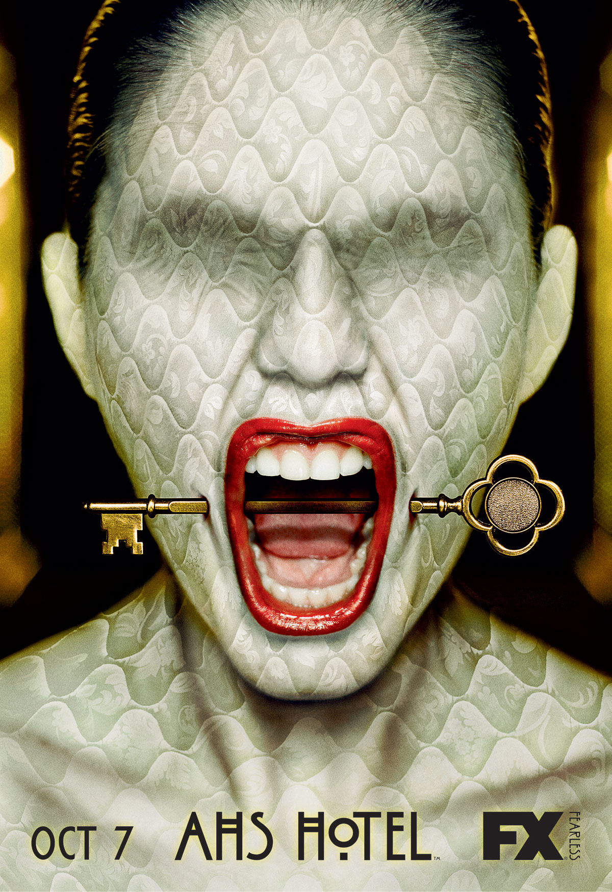 Dreamogram Iconisus – Key Art – Movie Poster – American Horror Story: Hotel – 1