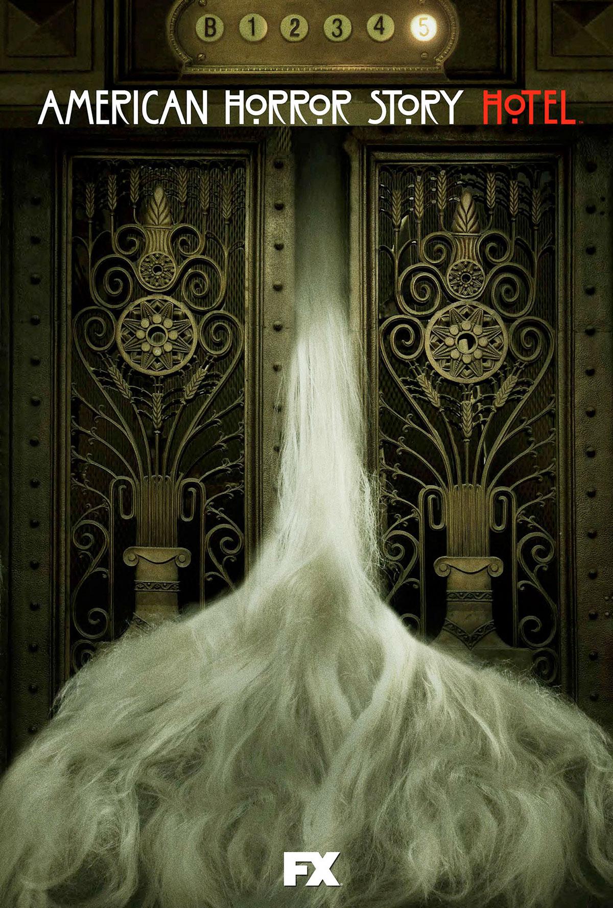 Dreamogram Iconisus – Key Art – Movie Poster – American Horror Story: Hotel – 2