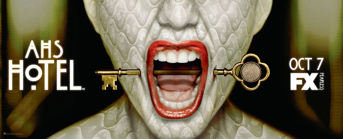 Dreamogram Iconisus – Key Art – Movie Poster – American Horror Story: Hotel – 4