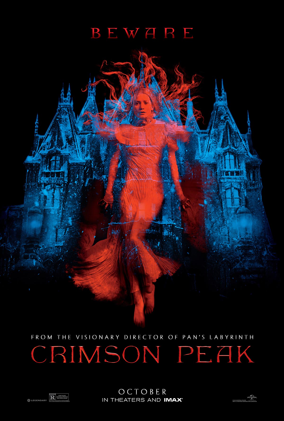 Dreamogram Iconisus – Key Art – Movie Poster – Crimson Peak – 1