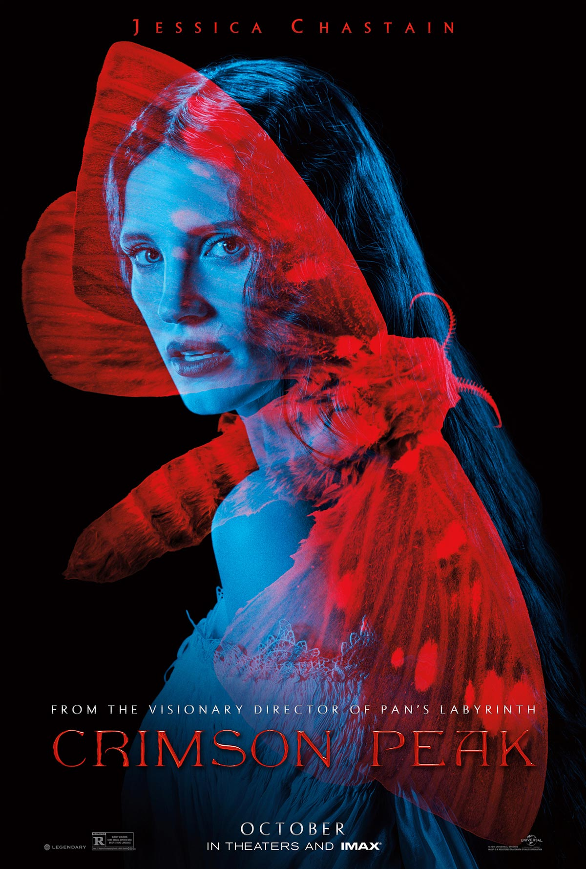Dreamogram Iconisus – Key Art – Movie Poster – Crimson Peak – 3