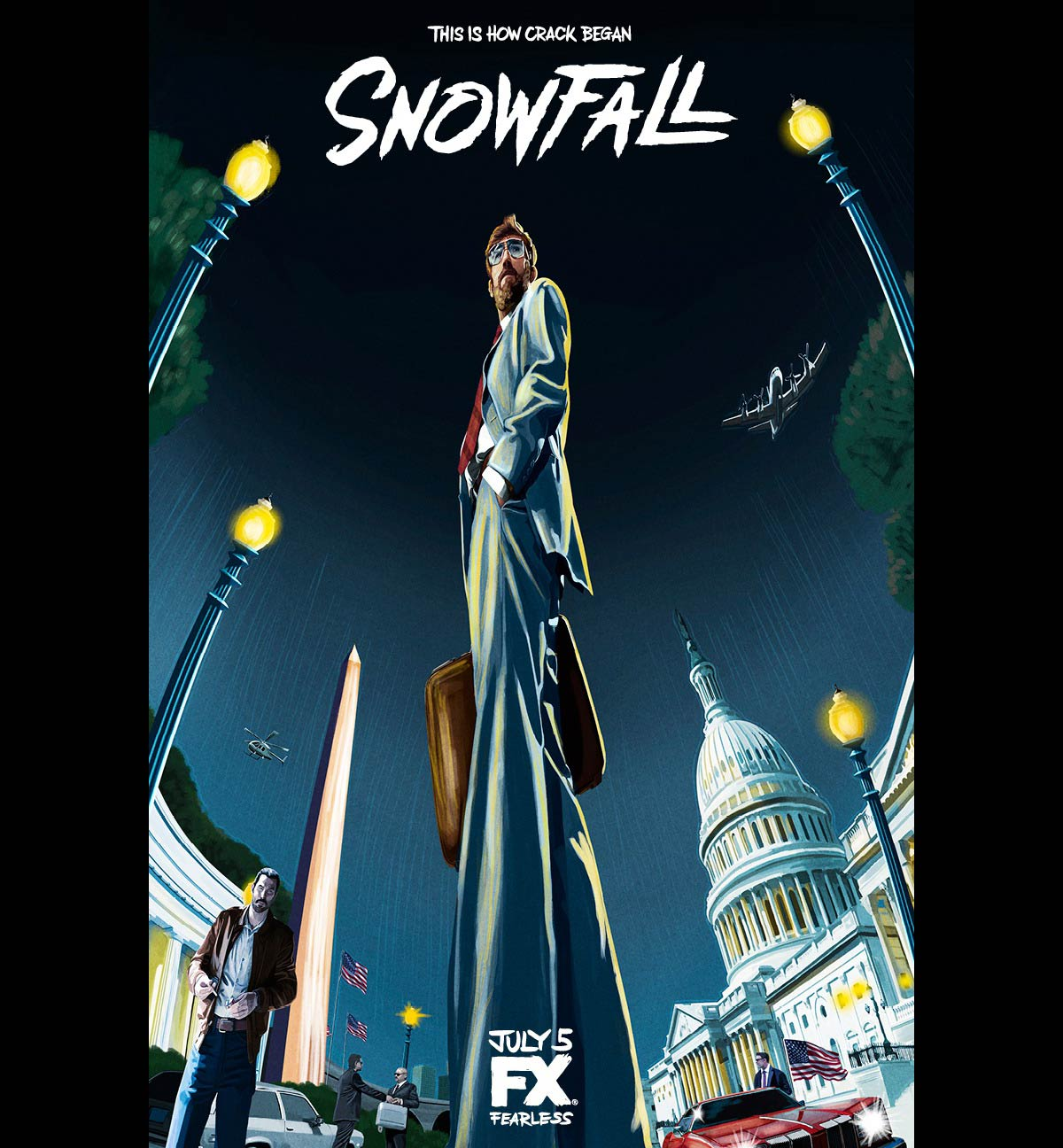 Dreamogram Iconisus – Key Art – Movie Poster – Snowfall – 2