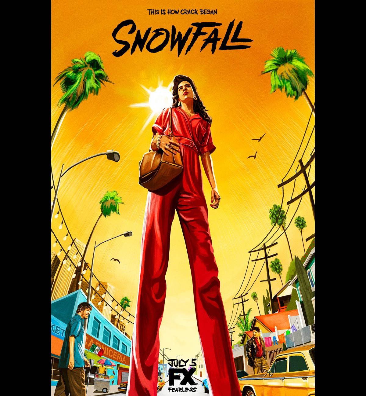 Dreamogram Iconisus – Key Art – Movie Poster – Snowfall – 3
