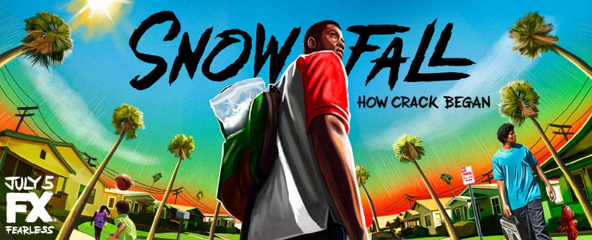 Dreamogram Iconisus – Key Art – Movie Poster – Snowfall – 4
