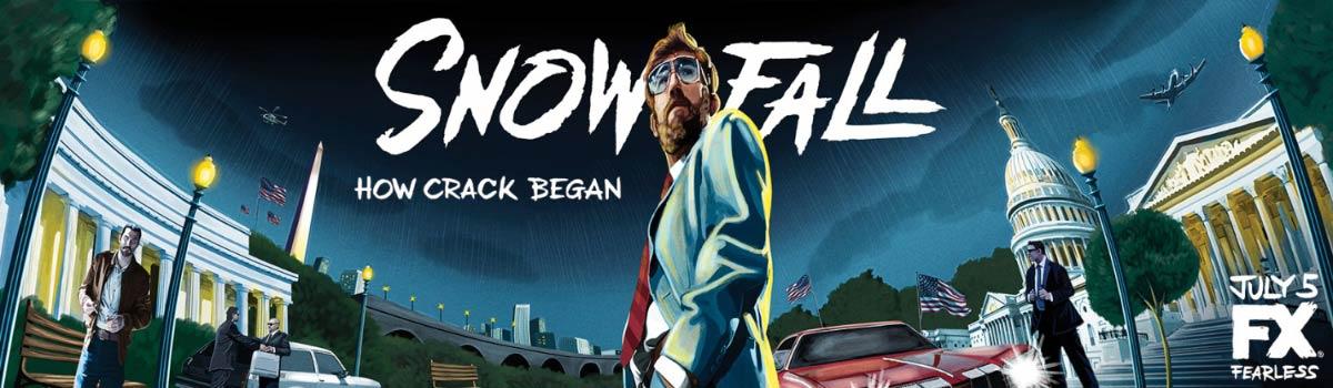 Dreamogram Iconisus – Key Art – Movie Poster – Snowfall – 5