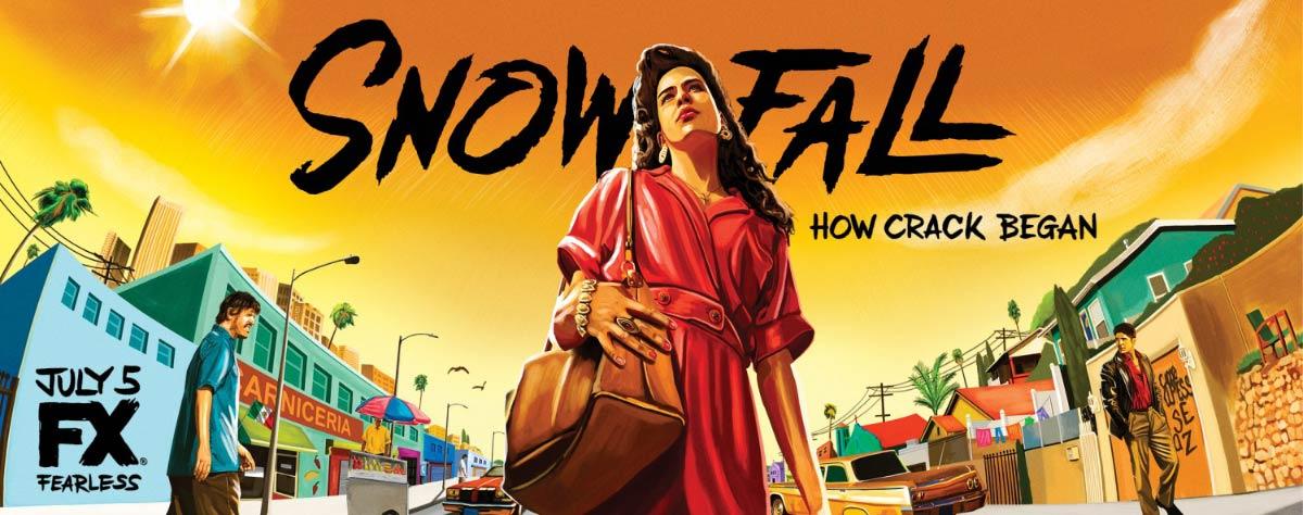 Dreamogram Iconisus – Key Art – Movie Poster – Snowfall – 6