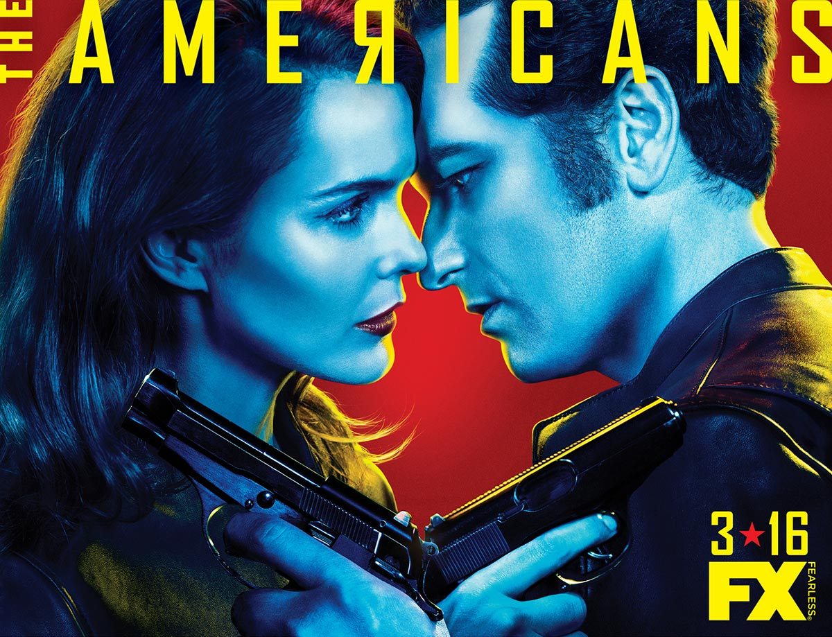Dreamogram Iconisus – Key Art – Movie Poster – The Americans Season 4 – 2
