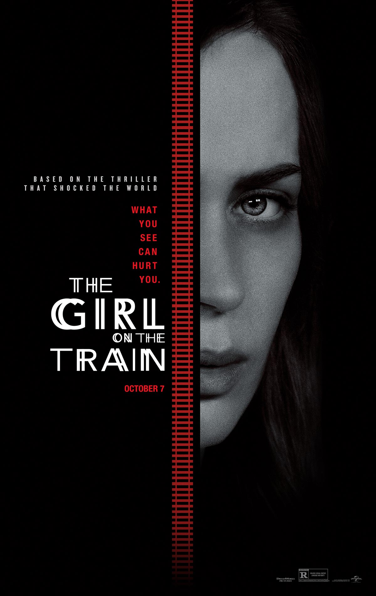 Dreamogram Iconisus – Key Art – Movie Poster – The Girl on the Train